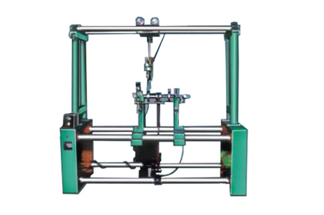 Machine provided with optional vertical drilling attachment